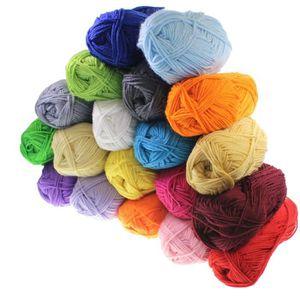 LAINE TRICOT - PELOTE Lot de 20 pelotes de laine de 25g en acrylique pou
