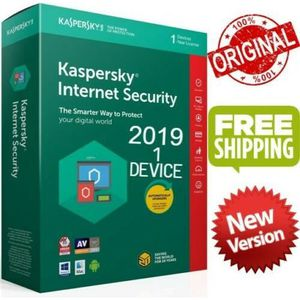 ANTIVIRUS À TELECHARGER Kaspersky Internet Security 2019 1 Appareil  1 an
