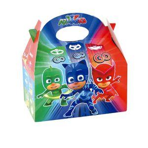 Piñata 4 Boîtes en carton Pyjamasques 16 x 10,5 x 16 cm