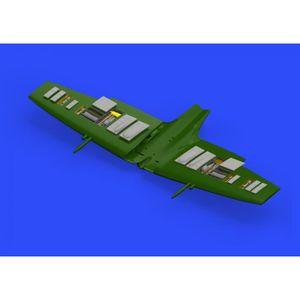ACCESSOIRE MAQUETTE (EDB672150) - Eduard Brassin 1:72 - Spitfire Mk.IX