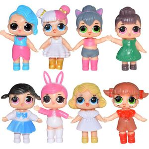FIGURINE DE JEU 8pcs Nouveau Surprise LoL poupée Figurines