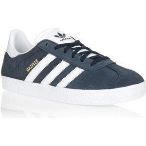 BASKET CHAUSSURES ADIDAS GAZELLE J MARINE BY9144