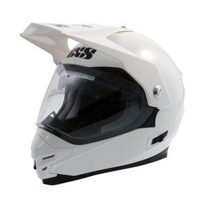 CASQUE MOTO SCOOTER Casque moto cross HX 207 Taille M blanc IXS