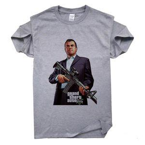 T-SHIRT T-Shirt Col Rond 100% Cotton graphique drôle de st
