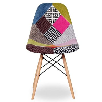 Chaise Eames DSW Style Patchwork