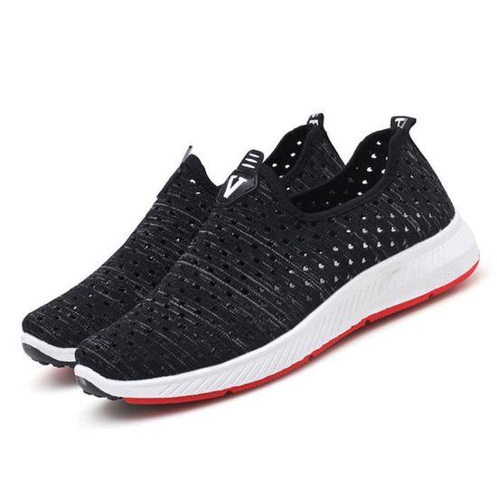 Chaussures Homme Plus Taille De Plein Air Air Air Durable Plusieurs couleurs Nouvelle tendance Noir Noir - Achat / Vente slip-on ce0db7