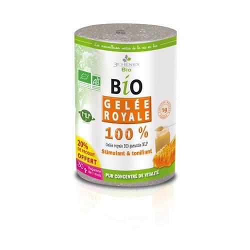 TONUS - VITALITÉ Bio gelée royale 30 g