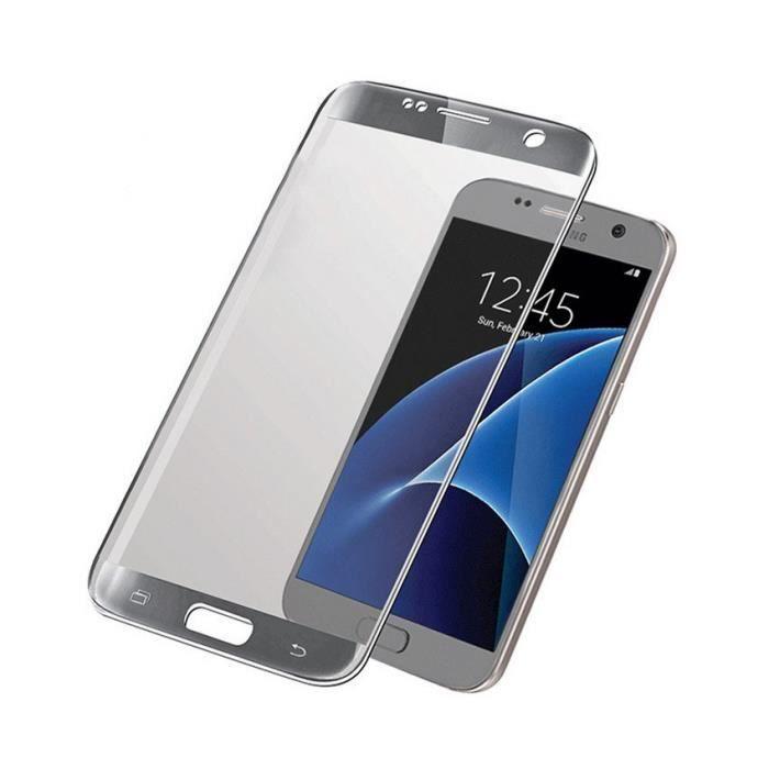 PANZERGLASS Protection premium en verre trempé pour Galaxy S7 - Argent