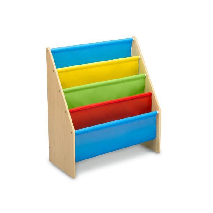 DELTA KIDS - Rangement Enfant bibliothèque beige multicolore