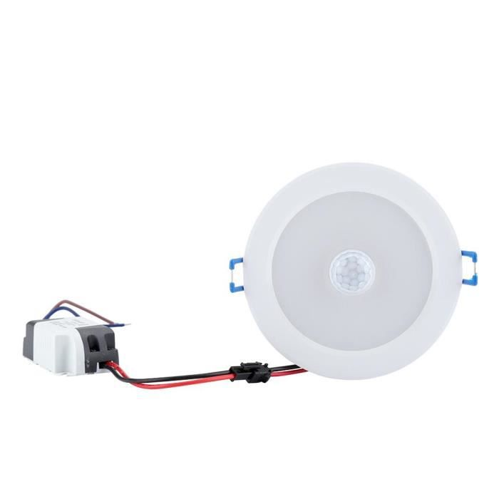 9w Blanc Lampe Capteur Infrarouge Induction 18led Chand Lumière YYq1Br