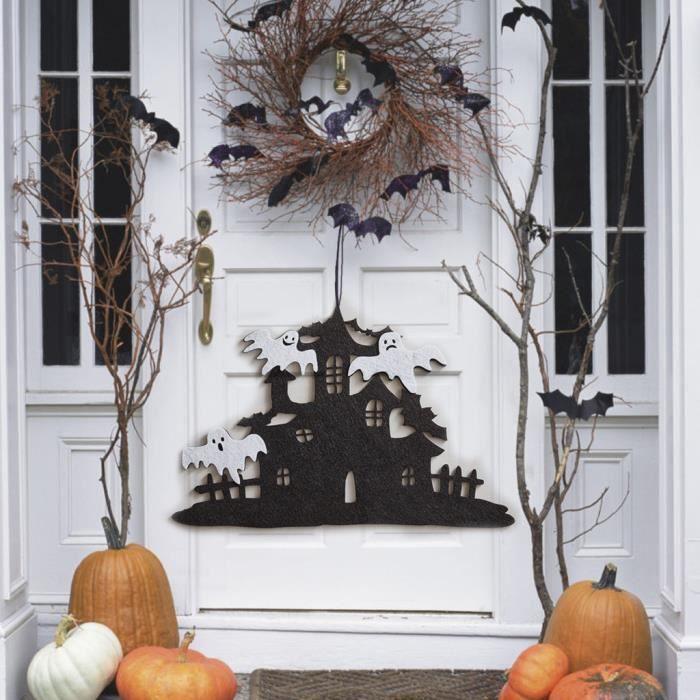 OBJET DÉCORATIF OBJET DECORATIF Halloween Décor non-tissé portes s