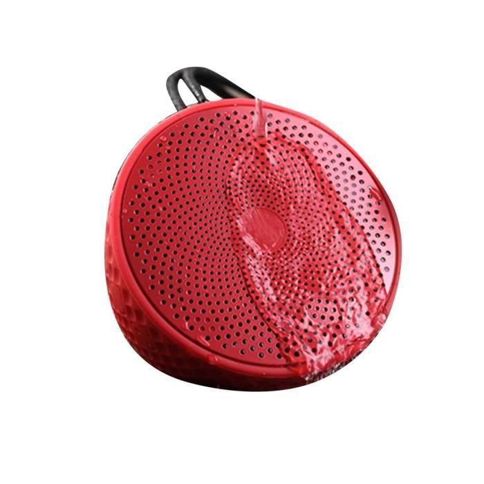 Étanche Bluetooth Mini Haut-parleur Portable Carte Extérieure Sans Fil Haut Parleur Sport Camping Subwoofer