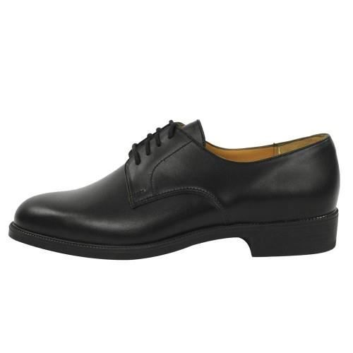 Chaussures ville, cuir, modèle gendarme