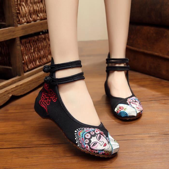 Femmes sandales chaussures de toile chaussures de marche