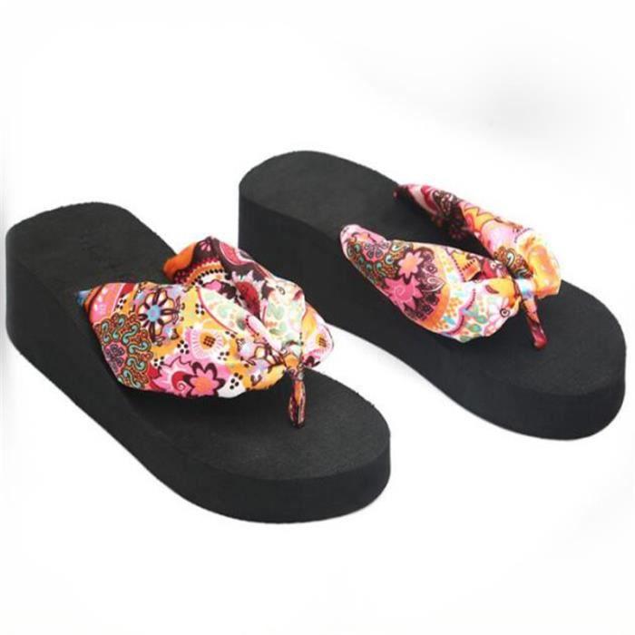 sandales tongs femmes chaussure femme platform thong sandals tongs femme chaussures sandale plage Femme tongs sandals beach 2017 xiBmmF