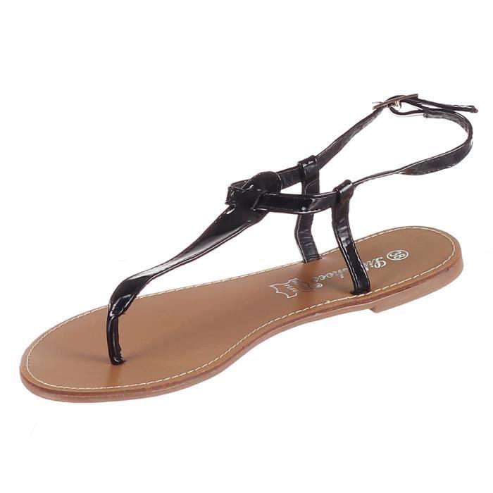 Sandales femme plates e