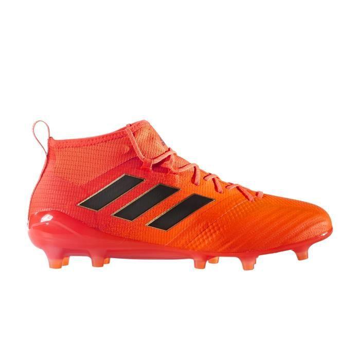 Chaussures de foot Promo Adidas ACE 17 PureControl FG Noir Bleu achat en ligne