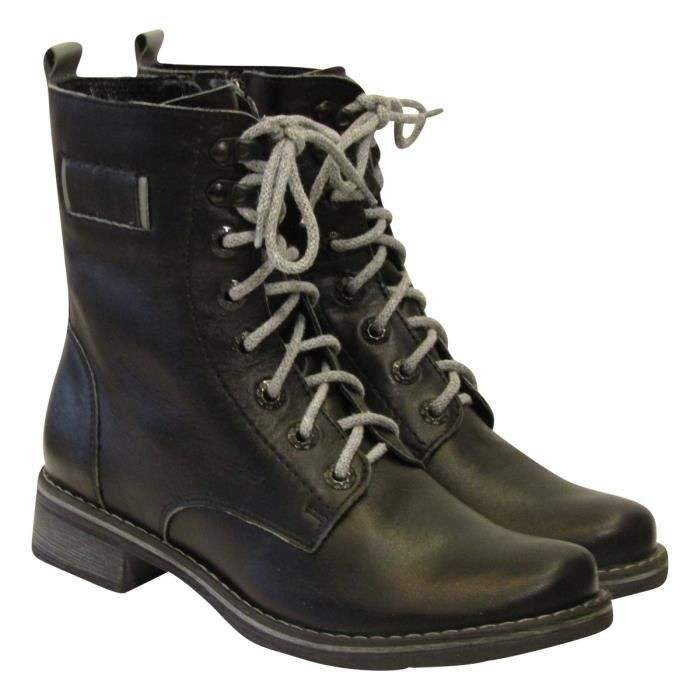 Nunza 1183 Leather Boots W7VMT Taille-40