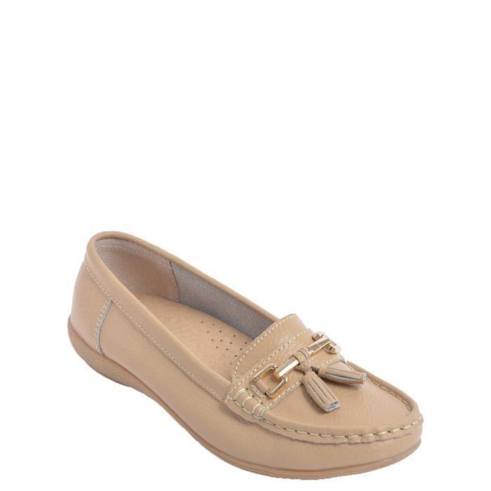 MOCASSIN Chaussures mocassin en cuir pour femme
