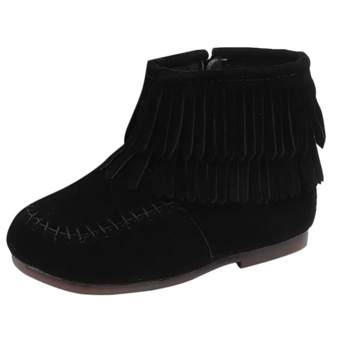 9c832d77361e0 6495@ Enfants Infant Filles Garçons d hiver franges Martin Bottes de neige  Chaussures 1728