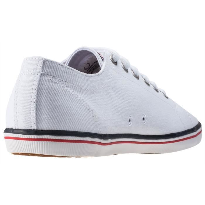 Fred Perry Kingston Femmes Baskets White - 4 UK tViiLUxQy