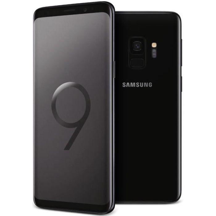 samsung galaxy s9 256 go noir carbone double sim achat smartphone pas cher avis et meilleur. Black Bedroom Furniture Sets. Home Design Ideas