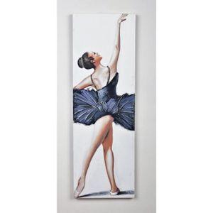 TABLEAU - TOILE Tableau déco Danseuse  1 -  Toile peinte à la main