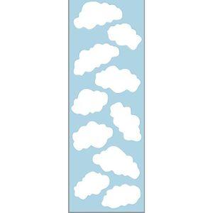 PLAGE Sticker déco - Nuages1 Planche 24x68cm