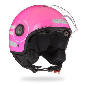 2023403215e Casque moto Aom - Achat   Vente Casque Scooter pas cher - Cdiscount