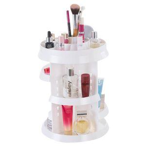 BOITE DE RANGEMENT Rangement maquillage 360 Degrés rotatif présentoir