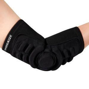 PROTÈGE-COUDE 1PC sécurité sport gel élastique Elbow Brace manch