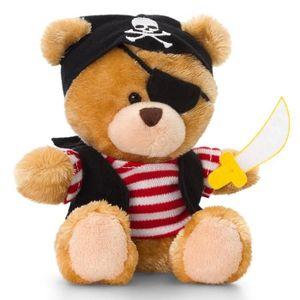 PELUCHE Peluche Pirate, ours en peluche, bonnet, épée et c