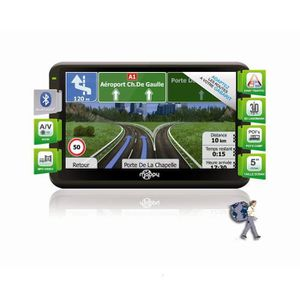GPS AUTO GPS Camping-car Mappy Ulti X570 Camp reconditionné