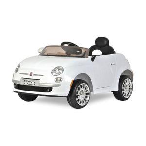 B90106 Cuir Électrique Fiat Pour Enfants En Voiture 500c 12v Siège nv08mNOw