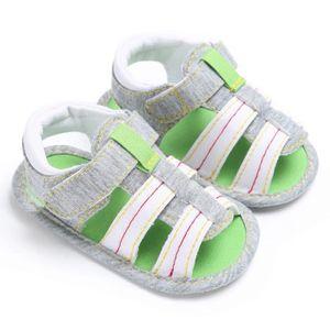 Napoulen®Bébé garçons mignons chaussures de berceau anti-dérapantes semelles souples sandales MARRON-XPP20171095 tZoeSUGj