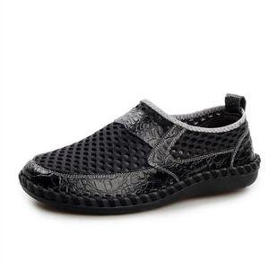 CHAUSSURES DE RANDONNÉE chaussures homme ete Moccasin Nouvelle Mode Marqu 48112fc06b09