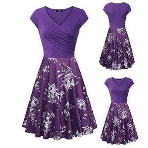 b3f58973c Robe violette - Achat / Vente pas cher