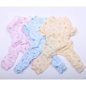 PYJAMA Version Rose - Chien Chat Doux Pyjamas Ours Design