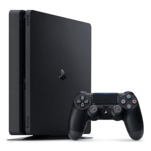 CONSOLE PS4 PS4 Slim Noire 500 Go