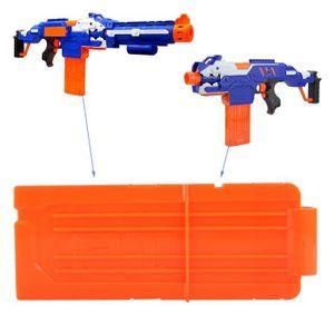 PISTOLET BILLE MOUSSE 1 x 12 Dart Modulus Ammo Kit flip clip für Nerf N-