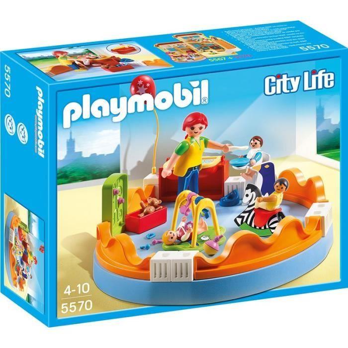 PLAYMOBIL 5570  Espace Crèche avec Bébés