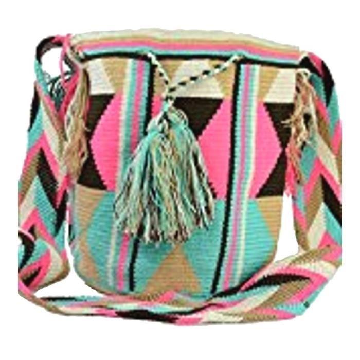 Wayuu Sac - Grand Mochila - Design - 1222 UZTNP