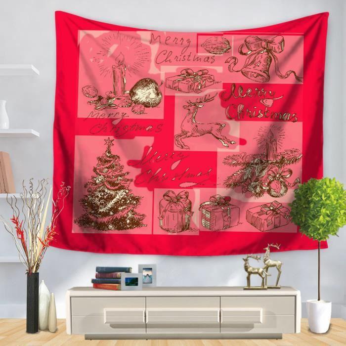tonsee no l partie tapisserie mur tenture maison d cors couvre lit rideau de douche qyy70911711e. Black Bedroom Furniture Sets. Home Design Ideas