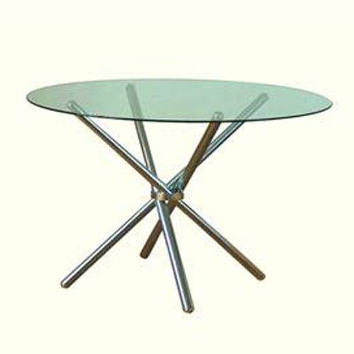 Table ronde en verre achat vente table ronde en verre pas cher cdiscount - Table ronde cdiscount ...