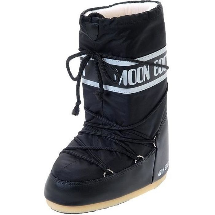 Chaussures Moon Boot noires homme furID6