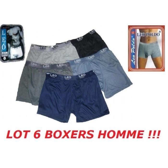 boxer homme 100 coton achat vente pas cher. Black Bedroom Furniture Sets. Home Design Ideas