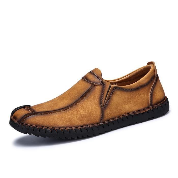 Chaussures Homme Bateau homme Bateau en daim Chaussures de ville Chaussures populaires Chaussures plates Confortables et légères