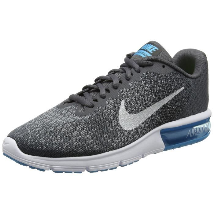 timeless design 2a7ed 4b837 Nike Air Max Sequent 2 Chaussures de course pour homme NHJJ8 44 1-2
