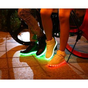 pour hommes chaussures de de Fashion LED Growing lumineux homme chaiging chaussures hiver B White Chaussures automne 2015 couleurs 8 fW4OqyHwRx