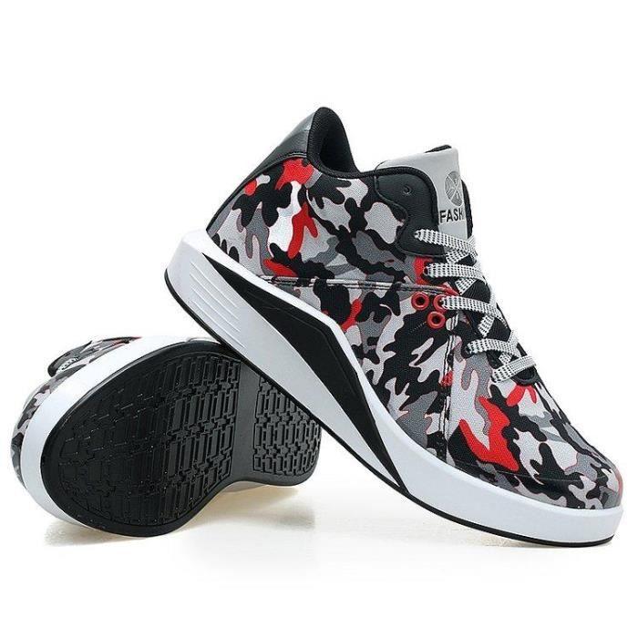 Chaussure De Trail Un Amorti Masculines Loisir Respirant Courir Homme rouge 43 R86439759_6044 3vU8L